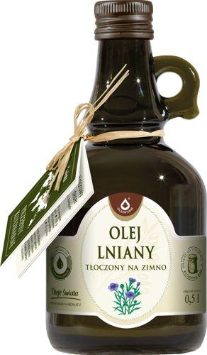 Oleofarm olej lniany tłoczony na zimno