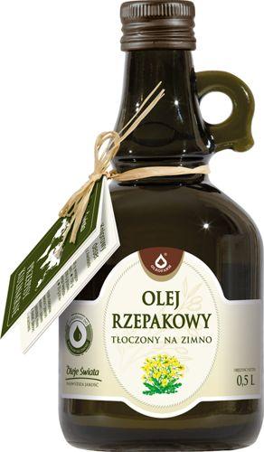 Oleofarm olej rzepakowy tłoczony na zimno