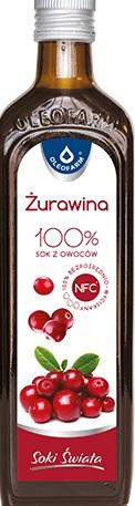 Oleofarm żuraVital sok z żurawiny