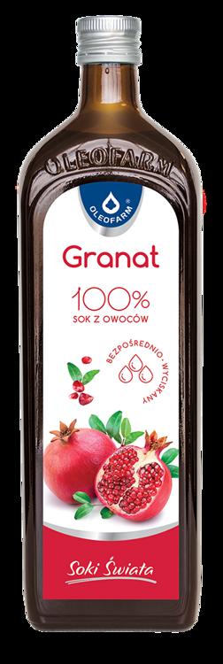 Oleofarm granVital sok z owoców granatu