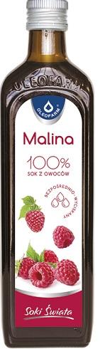 Oleofarm malinaVital sok z malin