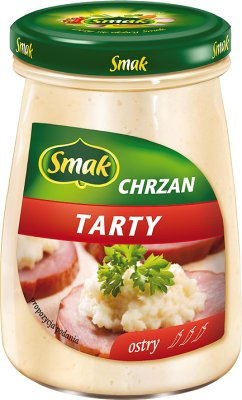 Smak Chrzan tarty ostry