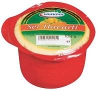 fromage havarti sur un morceau de