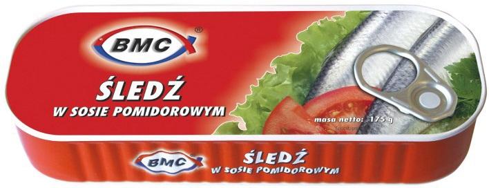 BMC Śledź w sosie pomidorowym