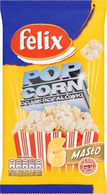 Felix popcorn do mikrofalówki maślany