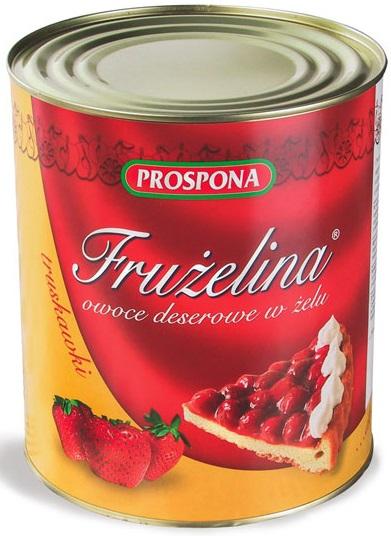 Prospona Frużelina truskawka w żelu