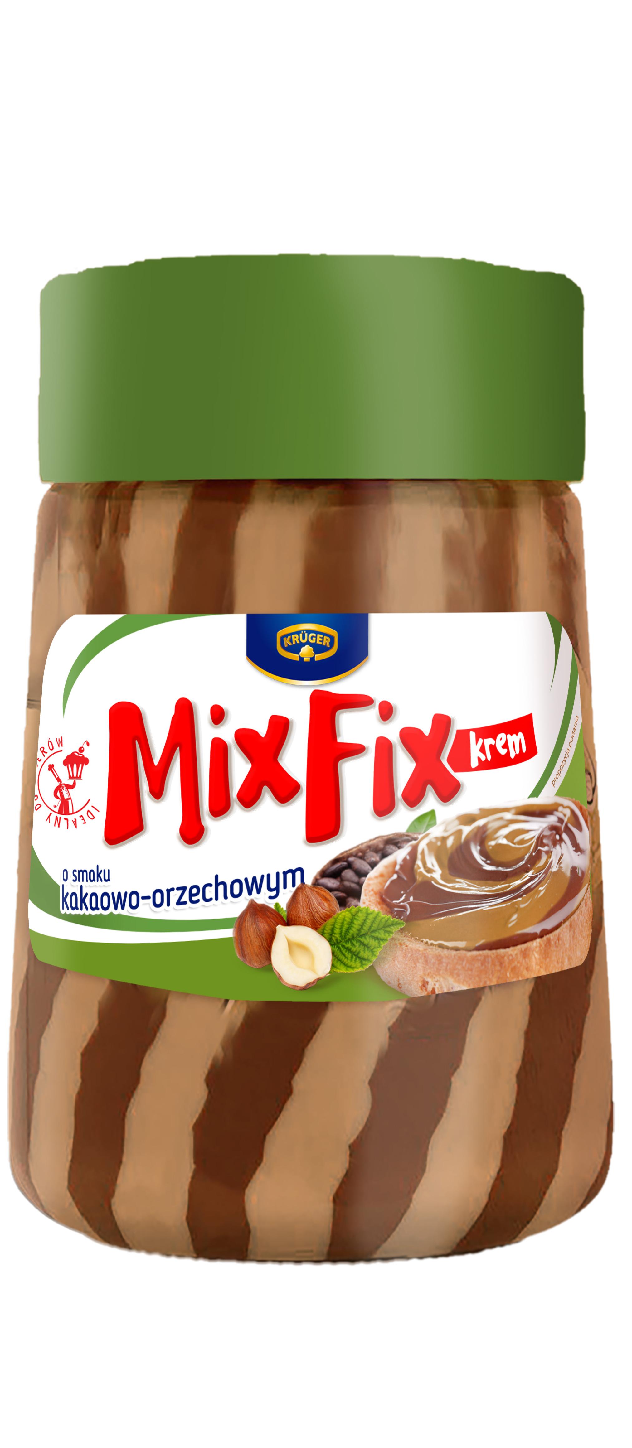 Mix Fix krem o smaku kakaowo-orzechowym