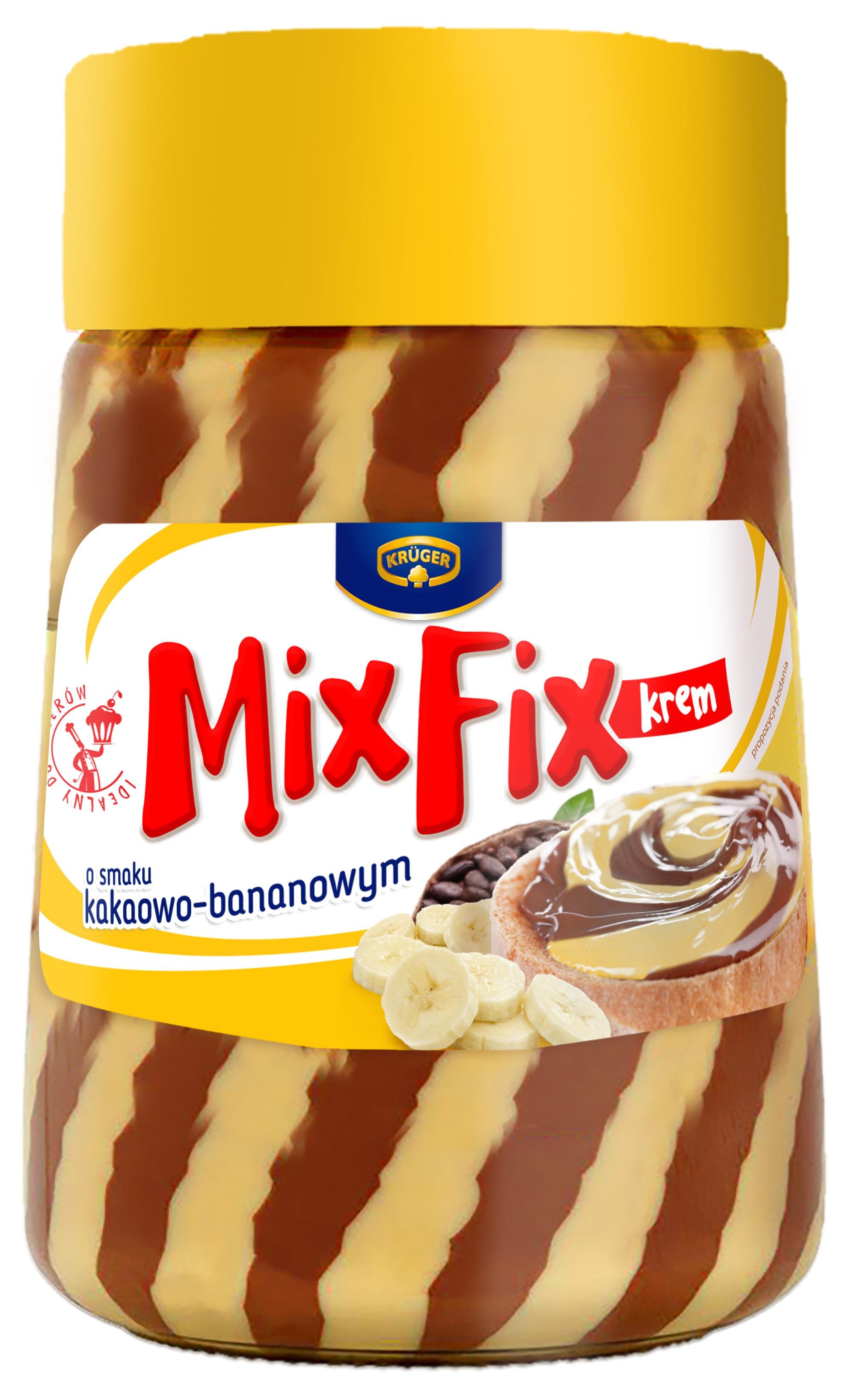 Mix Fix krem o smaku kakaowo-bananowym