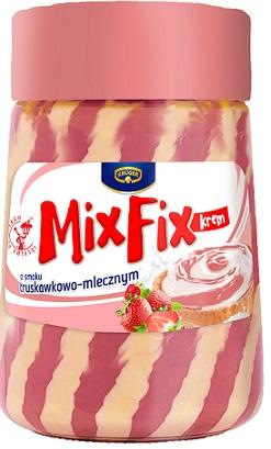Krüger Mix Fix Krem o smaku truskawkowo-mlecznym
