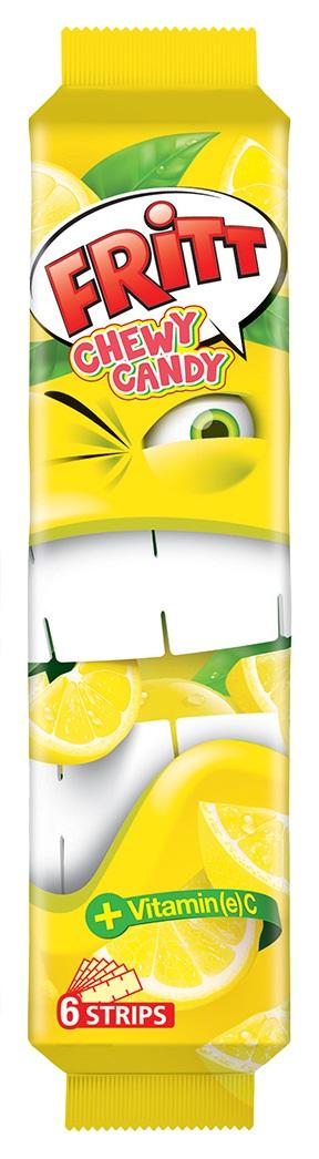 Fritt cukierek rozpuszczalny Cytrynowy 6szt.