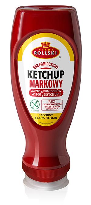 Ketchup Roleski Markowy z pieprzem
