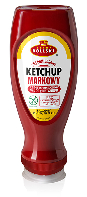 Roleski Ketchup Markowy z pieprzem