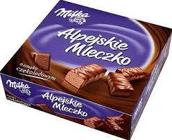 Milka alpejskie mleczko czekoladowe