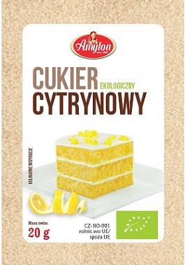 Amylon cukier cytrynowy BIO