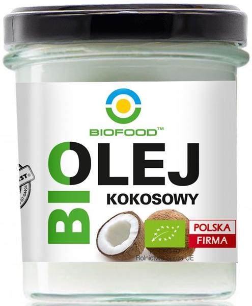 BIO FOOD Premium ekologiczny olej kokosowy BIO
