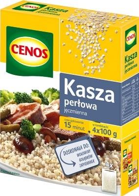 Cenos Kasza perłowa jęczmienna 4x100g