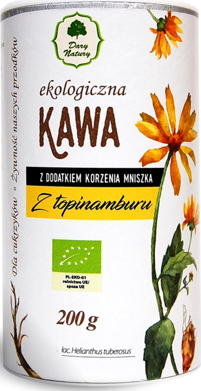 Dary Natury kawa z topinamburu z dodatkiem korzenia mniszka BIO
