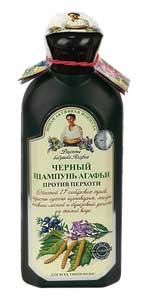 Babuszka Agafia Szampon  czarny przeciwłupieżowy