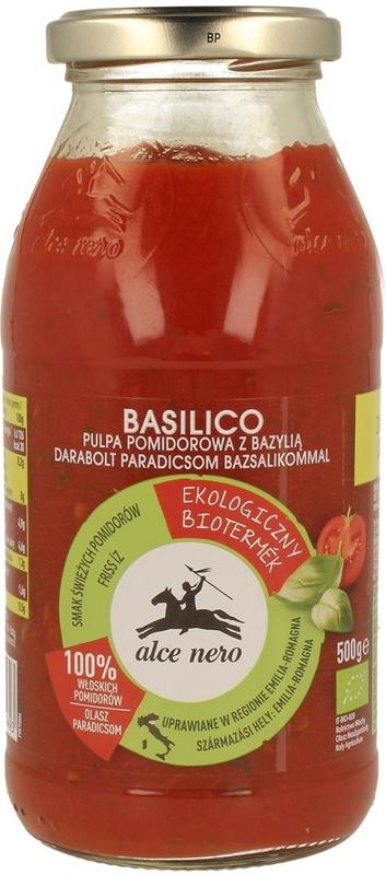 Alce Nero Sos pomidorowy z bazylią BIO