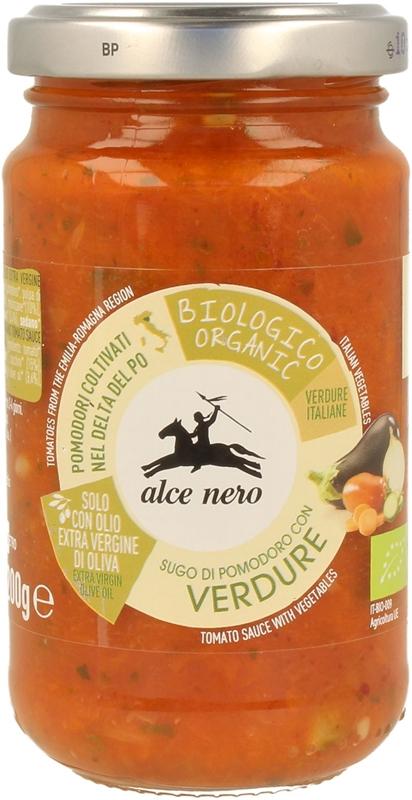 Alce Nero sos pomidorowy z warzywami verdure BIO