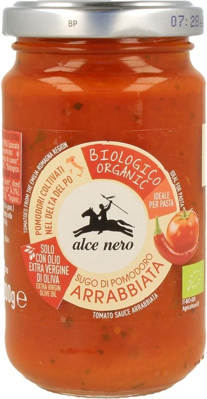 Alce Nero sos pomidorowy arrabiata BIO