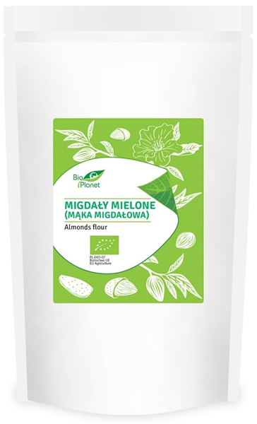 Bio Planet Migdały mielone-mąka migdałowa BIO