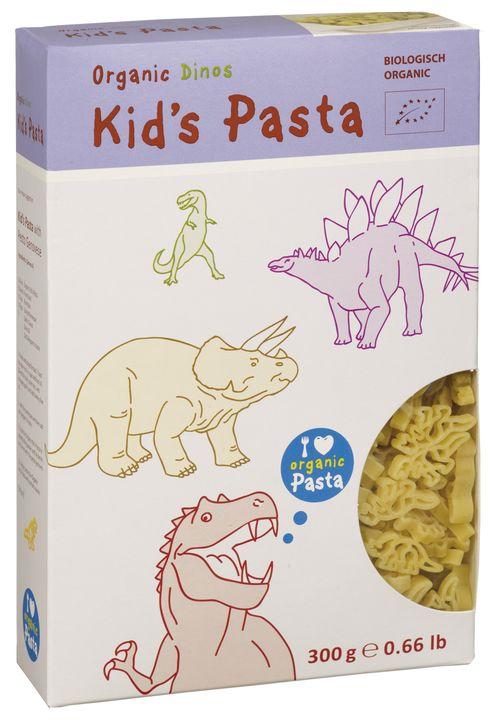 """Alb Or Pasta pour les enfants """"Dinosaures"""" Semoule BIO"""