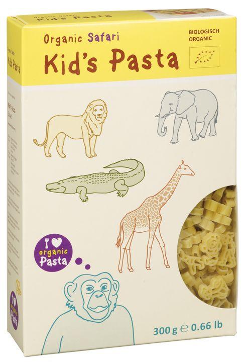 """Alb Or Pasta pour les enfants """"safari"""" Semoule BIO"""