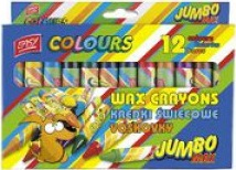 Easy Colours kredki świecowe 12 kolorów