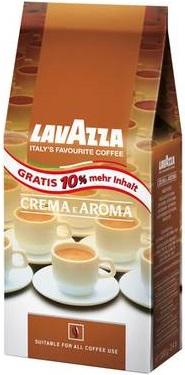 Lavazza kawa ziarnista Crema e Aroma 10% gratis
