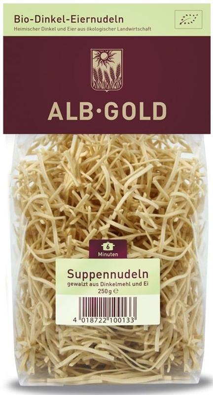 Alb Gold Makaron jajeczny nitka orkisz BIO