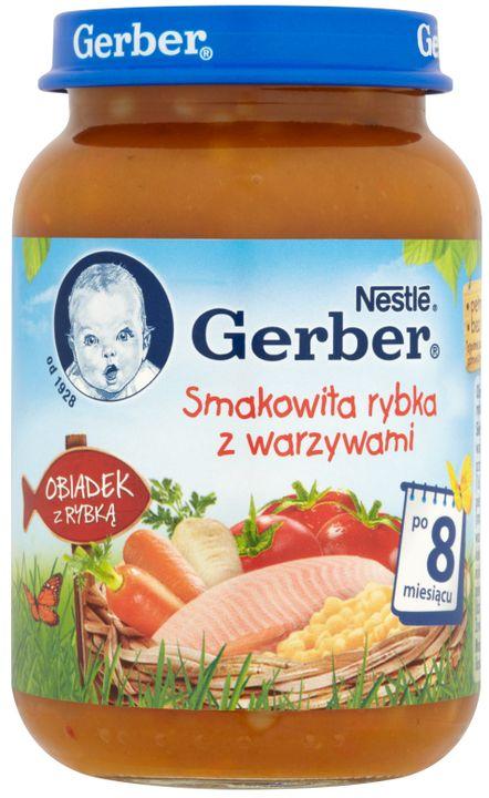 Gerber Obiadek Smakowita rybka z warzywami