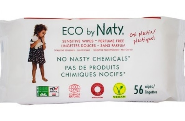 Naty Soothing baby wipes - unscented
