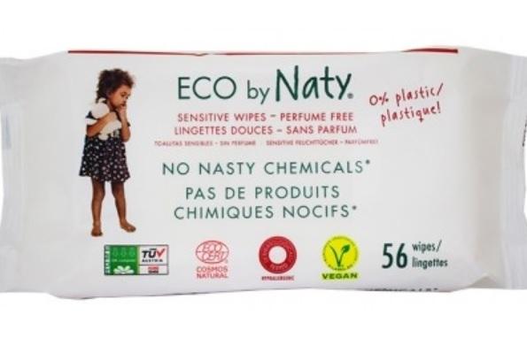 Naty Nawilżające chusteczki dla dzieci - bezzapachowe