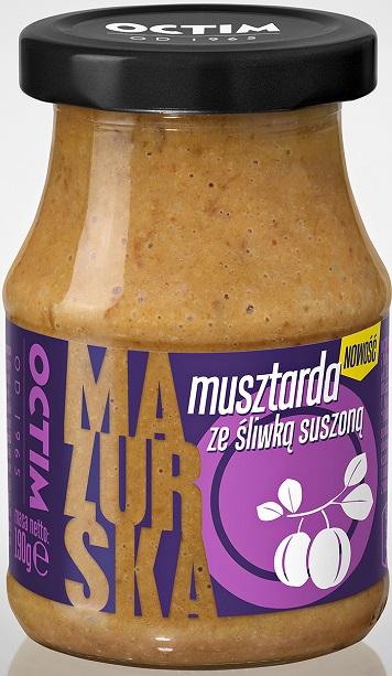 Octim  Musztarda Mazurska ze śliwką suszoną