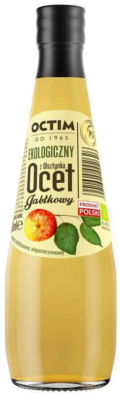 Octim Ekologiczny Ocet jabłkowy 6% z Olsztynka