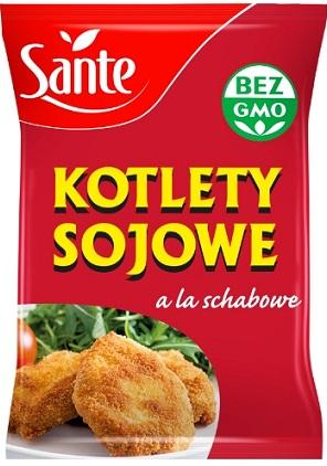 Sante kotlety sojowe a'la schabowe
