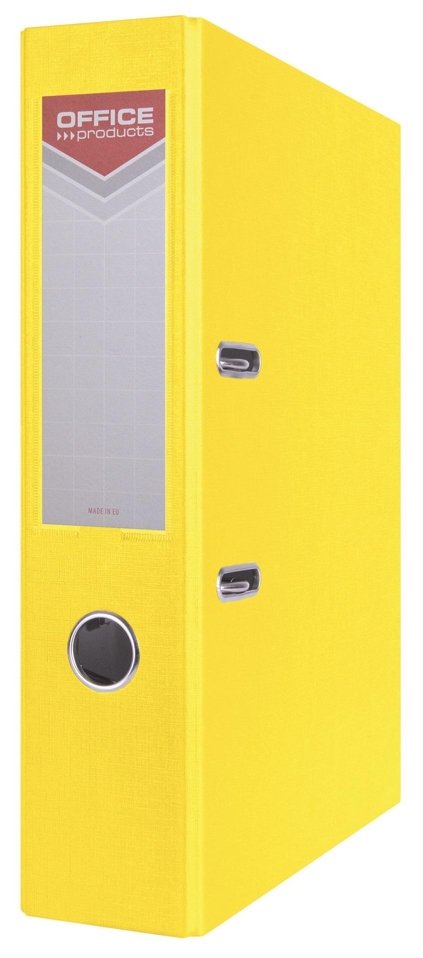 Office segregator  A4 75MM żółty