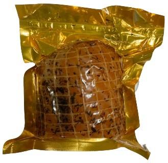 Rafa Polędwica Bosmańska z łososia z przyprawami  wędzona na zimno  pakowana próżniowo