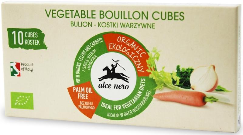 Alce Nero kostki warzywne BIO