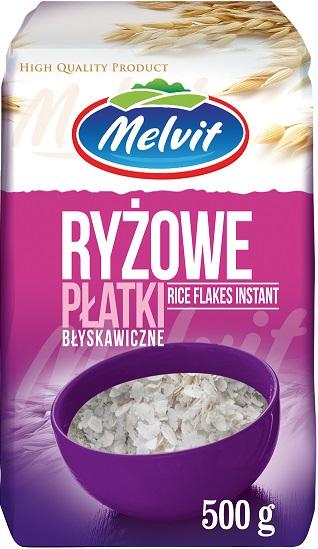 Melvit Płatki ryżowe błyskawiczne