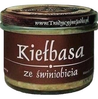 Tradycyjne Jadło Kiełbasa ze świniobicia
