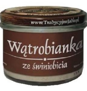 Tradycyjne Jadło Wątrobianka ze świniobicia