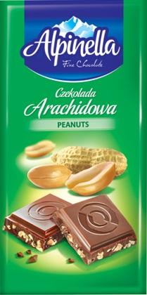 Alpinella czekolada arachidowa
