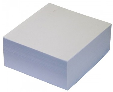 Cubo adhesivo Ok Office White 83x83x35 mm