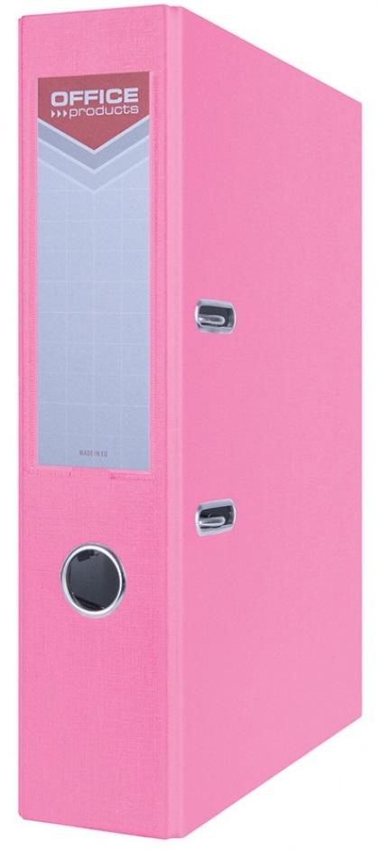 Office segregator  A4 75MM różowy