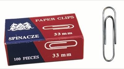 Ok paperclip Bureau rond 33 mm