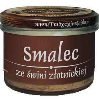 Tradycyjne Jadło Smalec ze świni złotnickiej