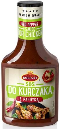 Roleski Sos do Kurczaka z Papryką