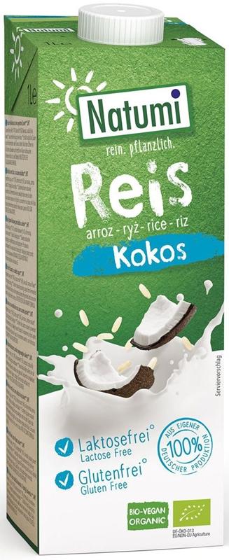 Natumi napój ryżowo-kokosowy BIO